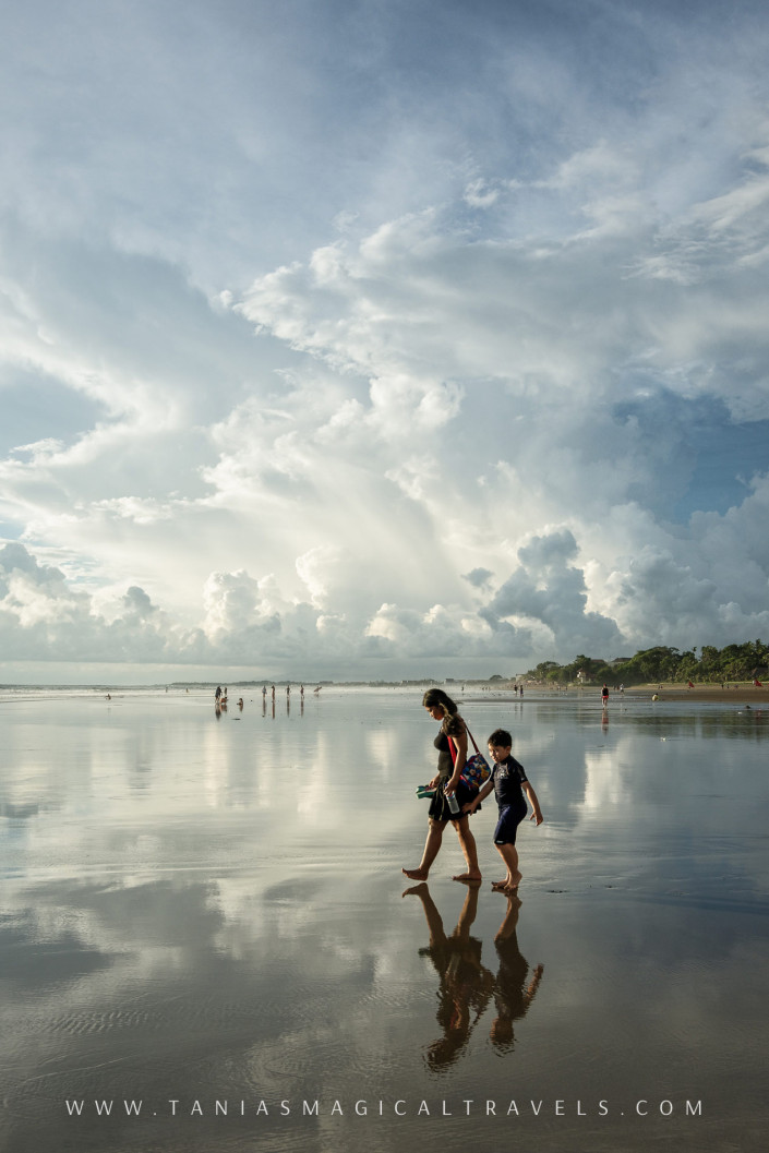 Travel | Mirror at Seminyak Beach, Feb 2016
