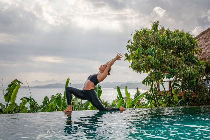 SPORT | Yoga at Mendaka's pool, Nihiwatu