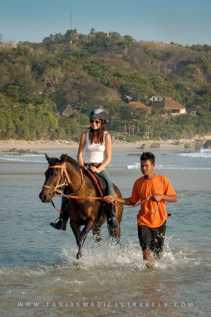 SPORT | Horse riding at Nihiwatu's private beach