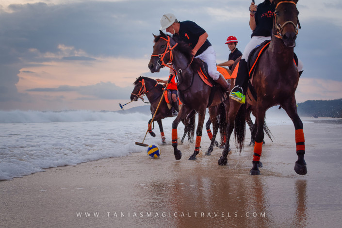SPORT | Polo game at Nihiwatu's private beach
